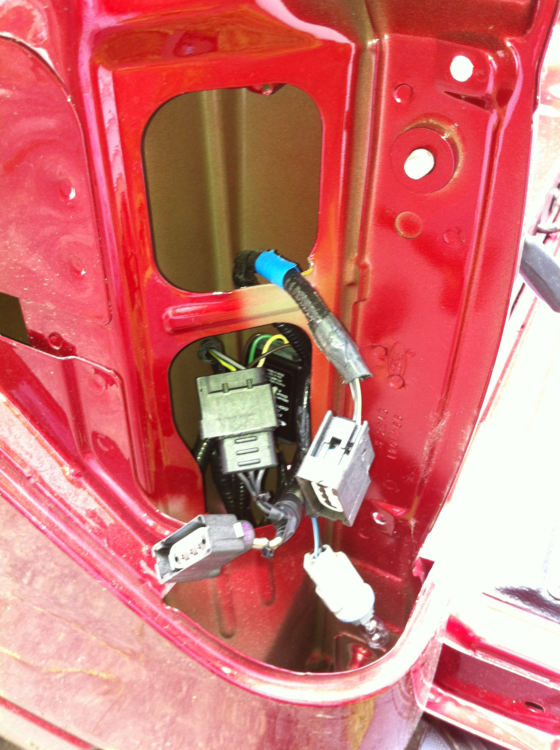 2011 Ford F 150 Wiring Auto Electrical Diagram 2013 Power Mirror F150 Right Rear Taillight Is Out Where Fuse And